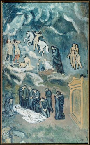 Pablo+Picasso+%281881-1973%29+Evocation+%28The+Burial+of+Casagemas%29%2C+1901