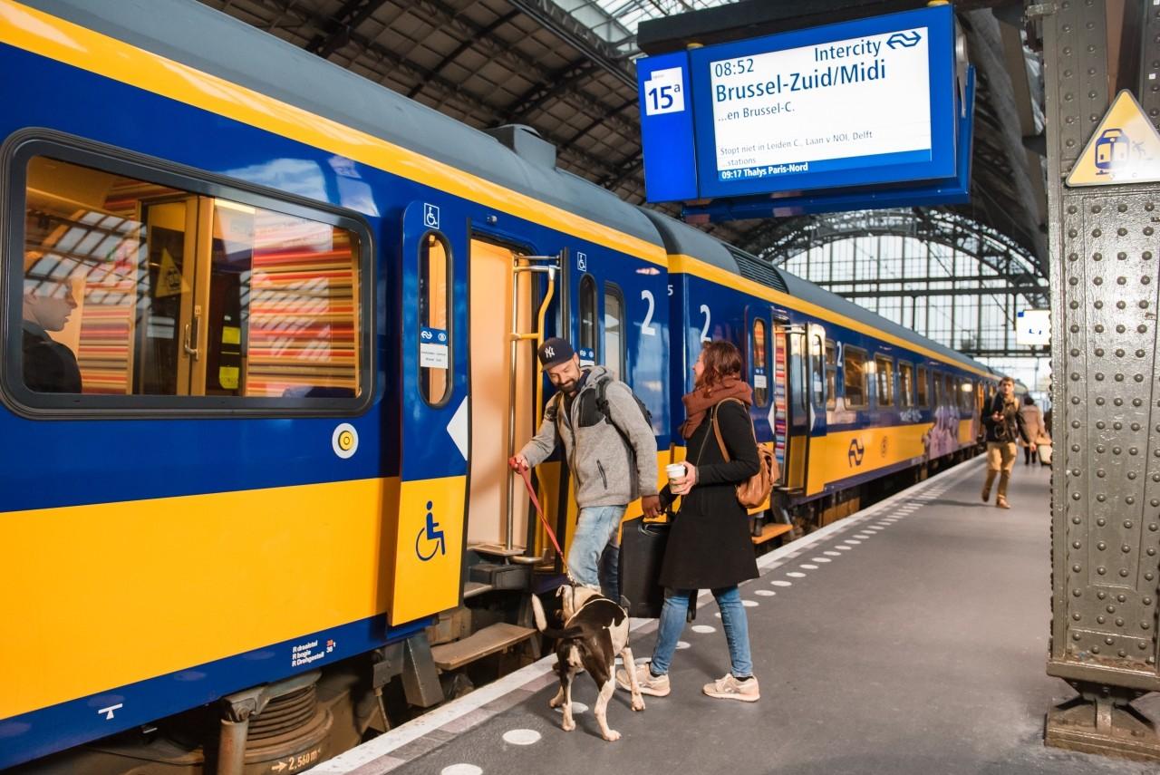 reizen met trein ov
