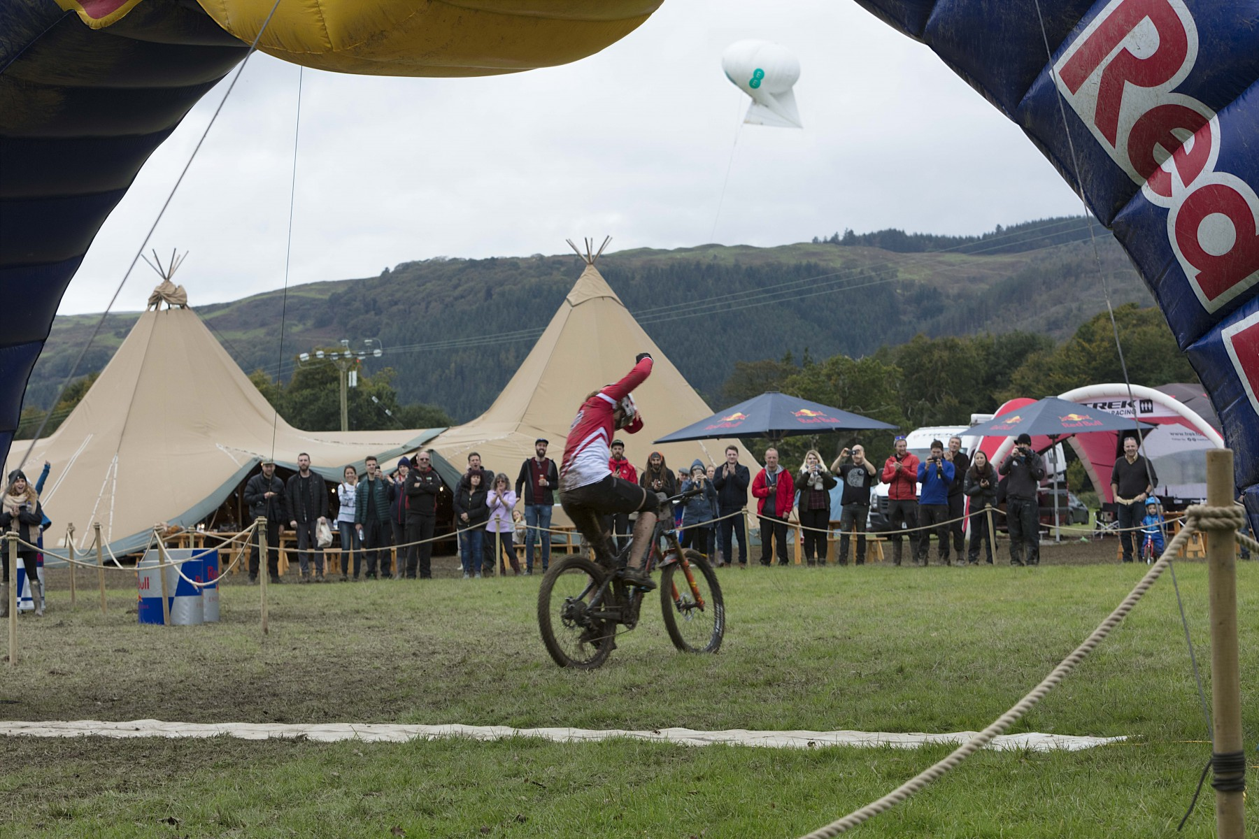 The winner of Red Bull Foxhunt event