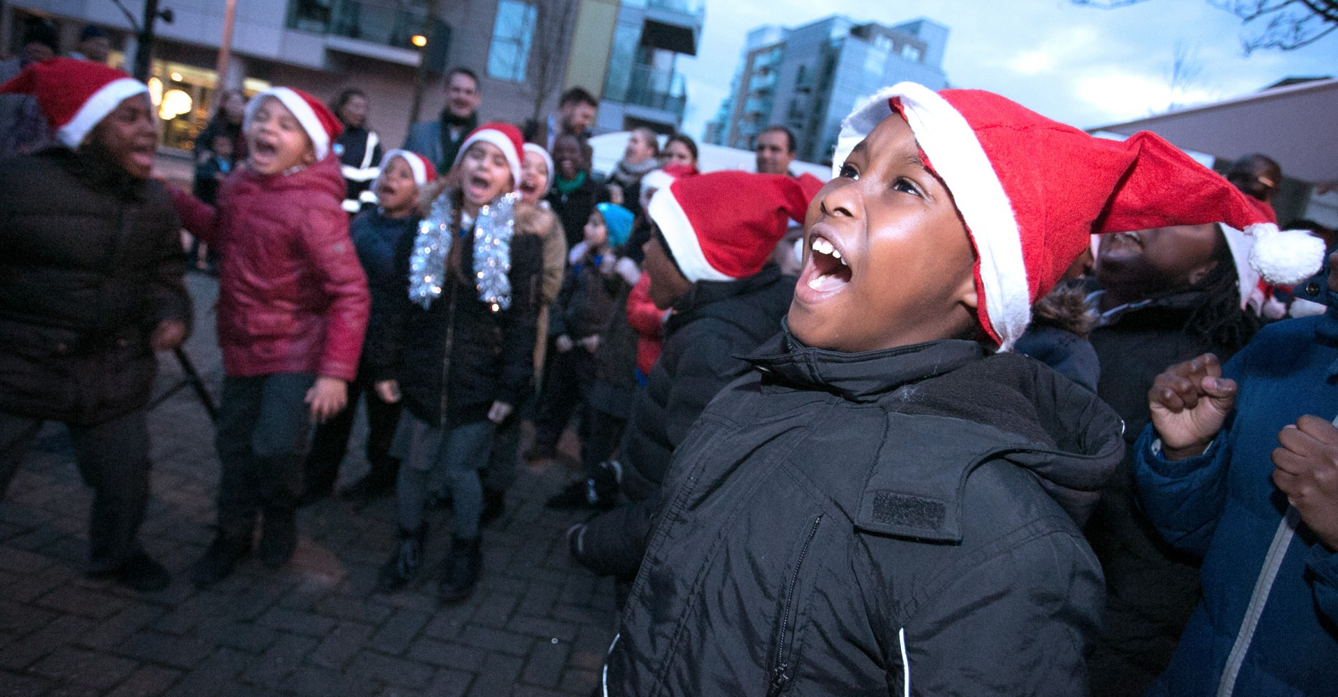 Winter Festival Makes Woodberry Down Sparkle