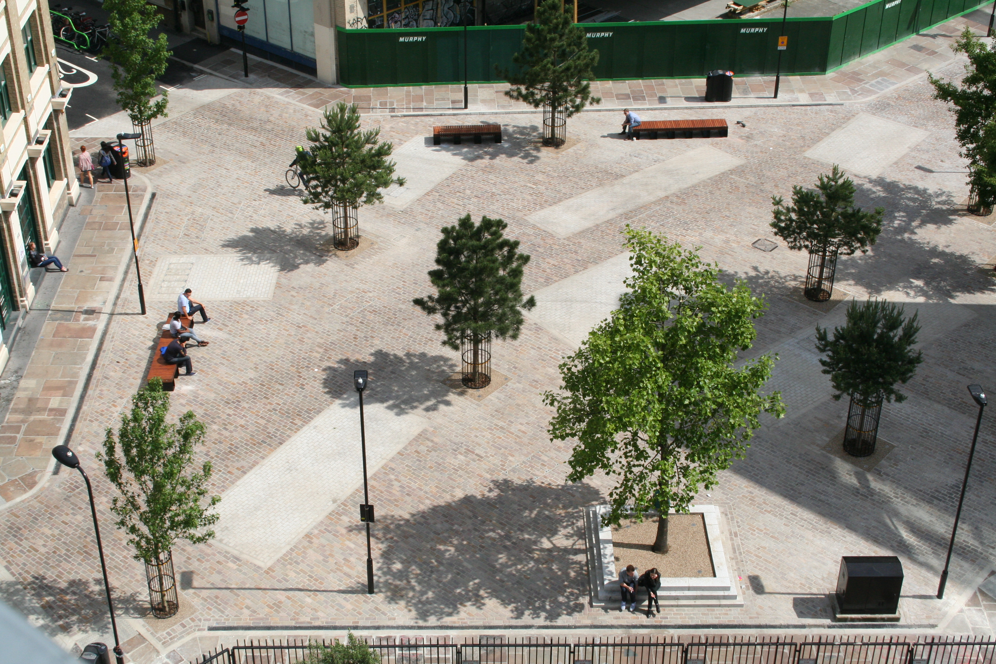 Hackney Goes Dutch New Shared Space Makes Cyclists And