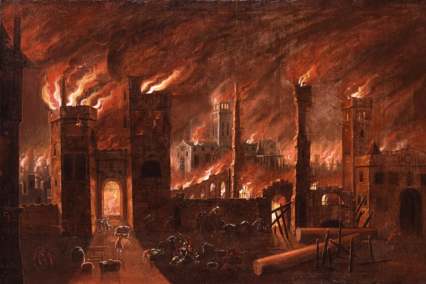 Marking the Great Fire of London 1666