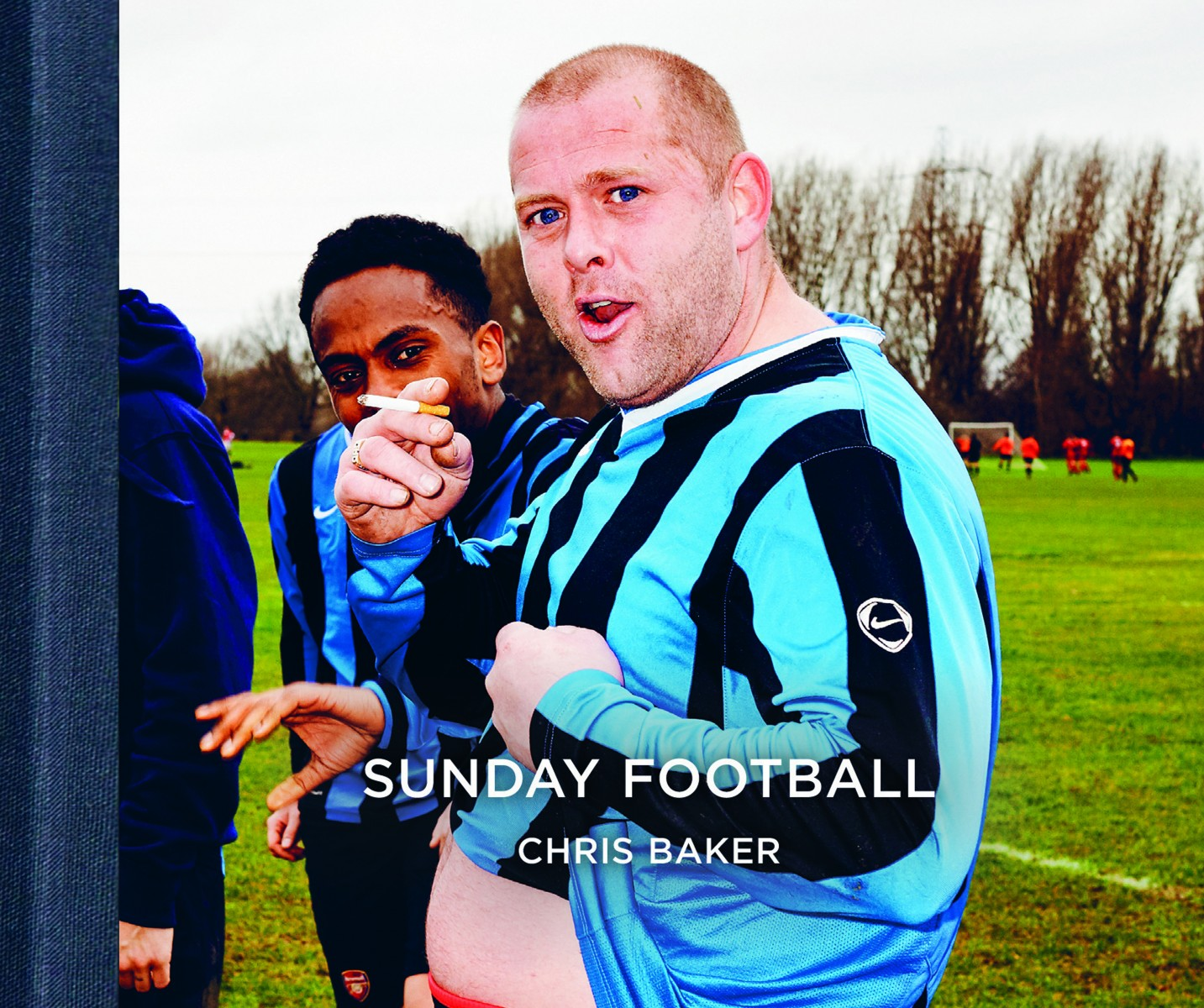 'Sunday Football' photo book cover