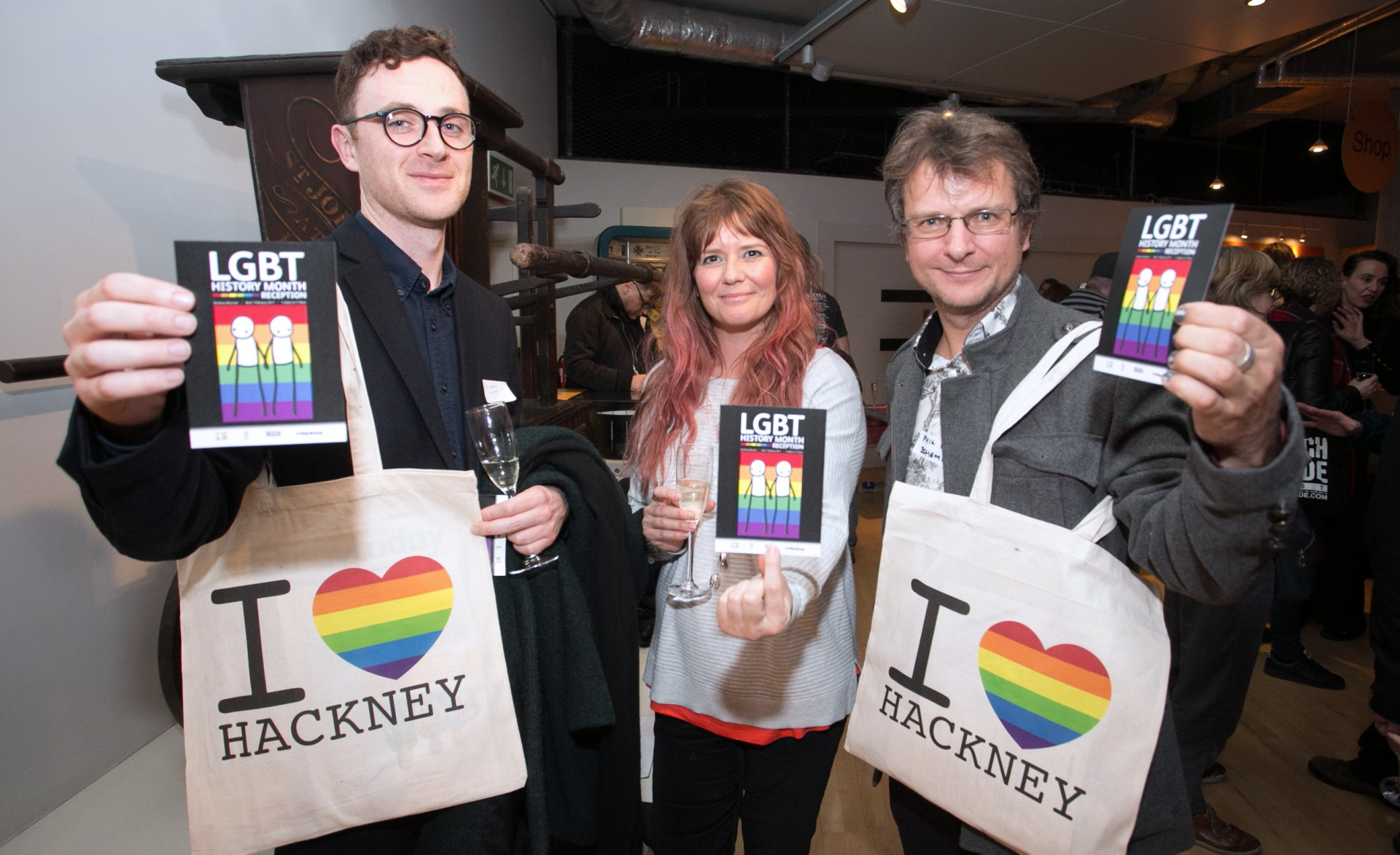 LGBT History Month Reception