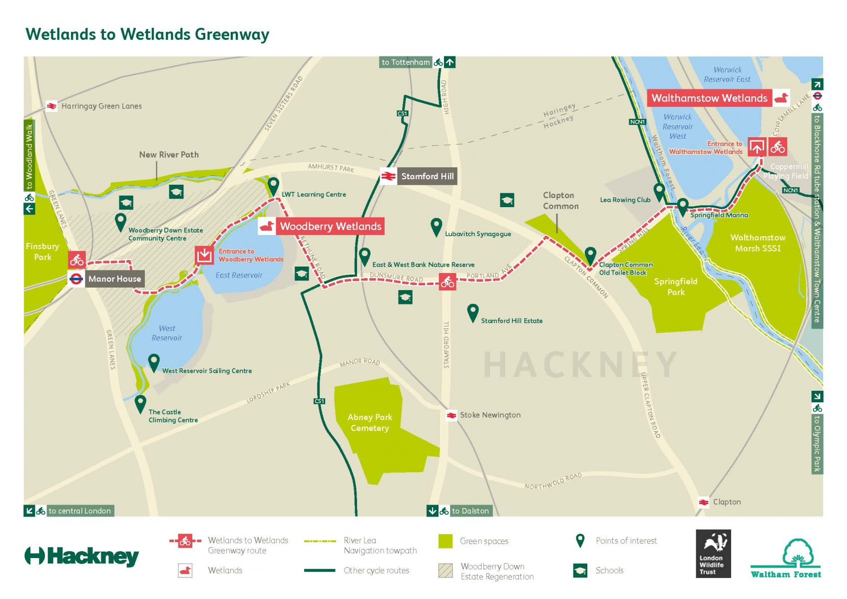 Wetlands to wetlands cycle route opens