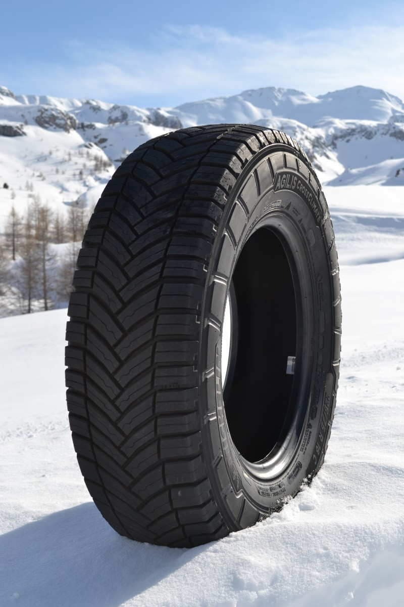 michelin launches agilis crossclimate van and light truck