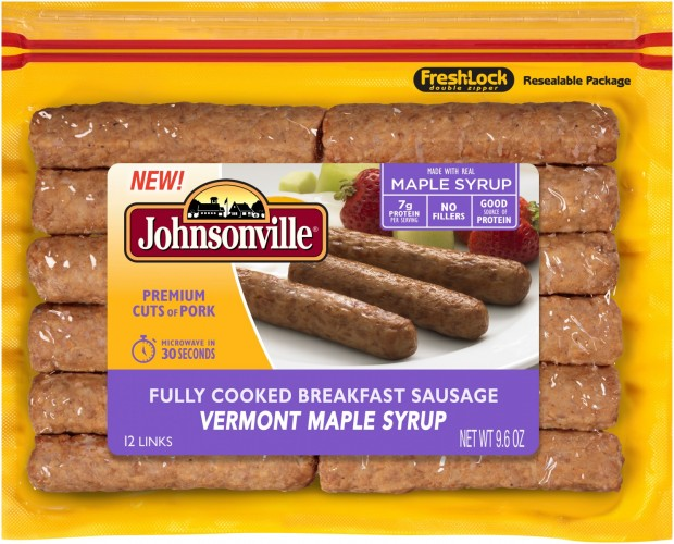 Johnsonville Rolls Out New Fully Cooked Breakfast Links
