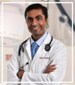 Dr. Vikas Patel, Medical Director of Cardiac Catheterization & Echocardiography
