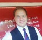 Leslie van der Klooster, trainmanager NS International