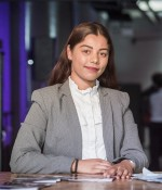 Amera Hussain, 18, Hackney 100 graduate from the programme pilot