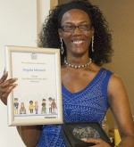 Angela Mitchell, Winner of the Homecare category