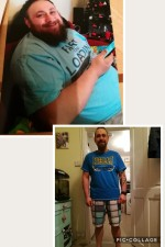 Martin Atchinson, who has lost 5st 7lbs