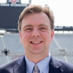 Christopher Hoch, director of Marching and Athletic Bands