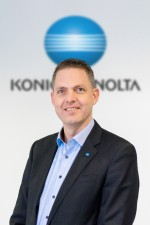 Marcel Cobussen, Business Development Manager at Konica Minolta Business Solutions Europe
