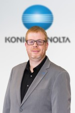 Yoann Fortini, ITS Business Development Manager, Konica Minolta Business Solutions Europe