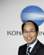 Toshi Uemura, Executive Officer, Division President of Professional Print,  Konica Minolta Inc