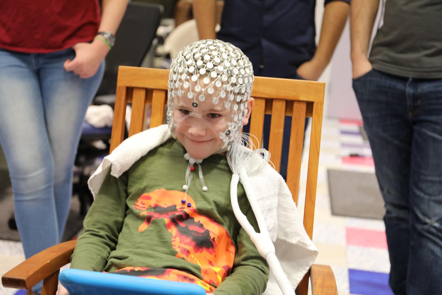 神经病学患者接受MEG扫描