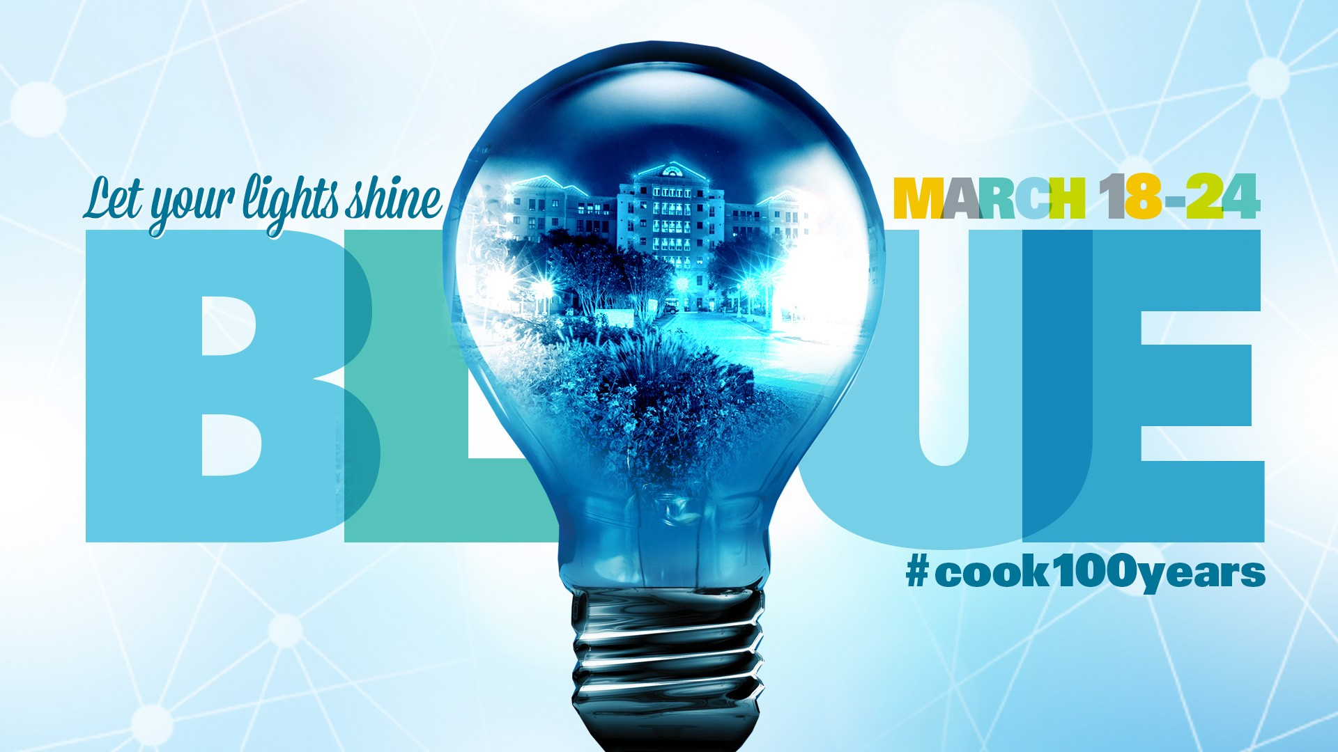 The Reasons Behind the Blue Lights Shining for Cook Children\'s