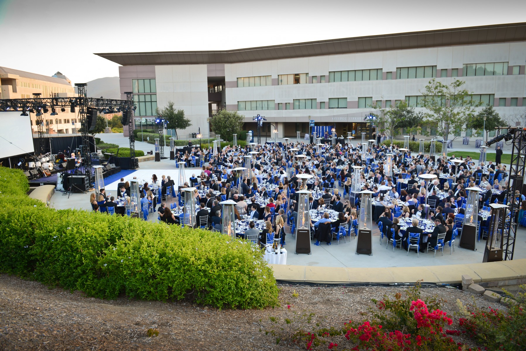 Panorama View of the 2015 CSUSM Gala.