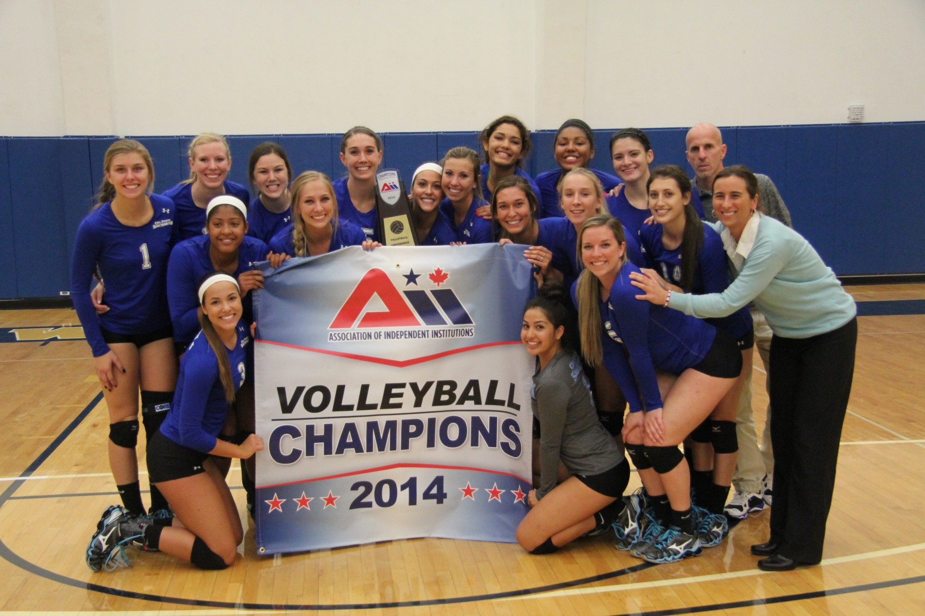Women's Voleyball Team wins national championship