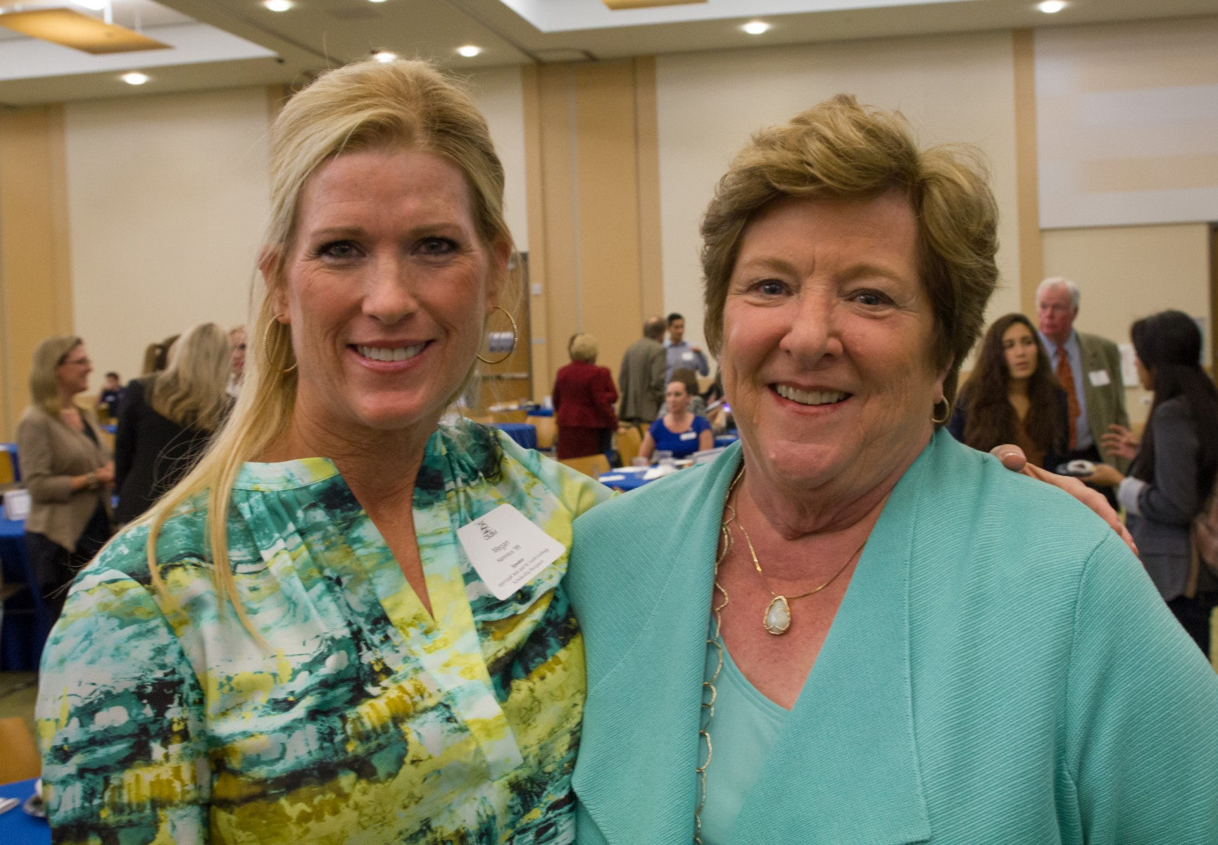 Dr. Megan Hamerus and Carolyn McGurn