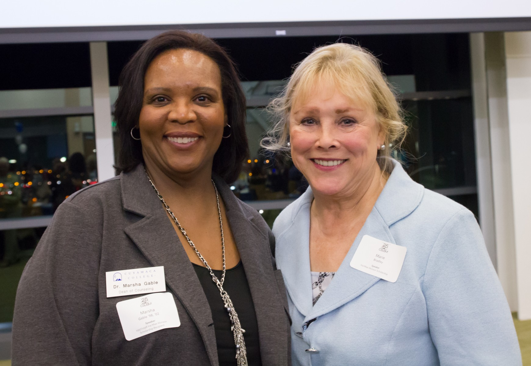 Dr. Marsha Gable and Marie Bradley