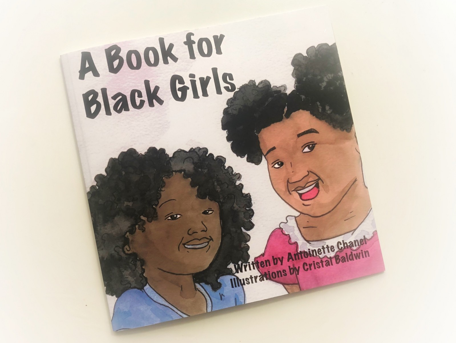 """A Book for Black Girls"" was written by alumna Antoinette Chanel."