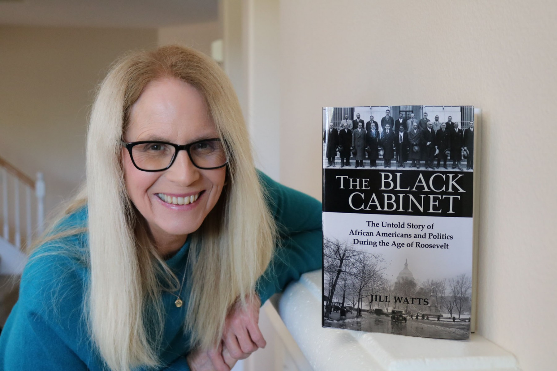 The fourth book by longtime history professor Jill Watts was published on May 12.