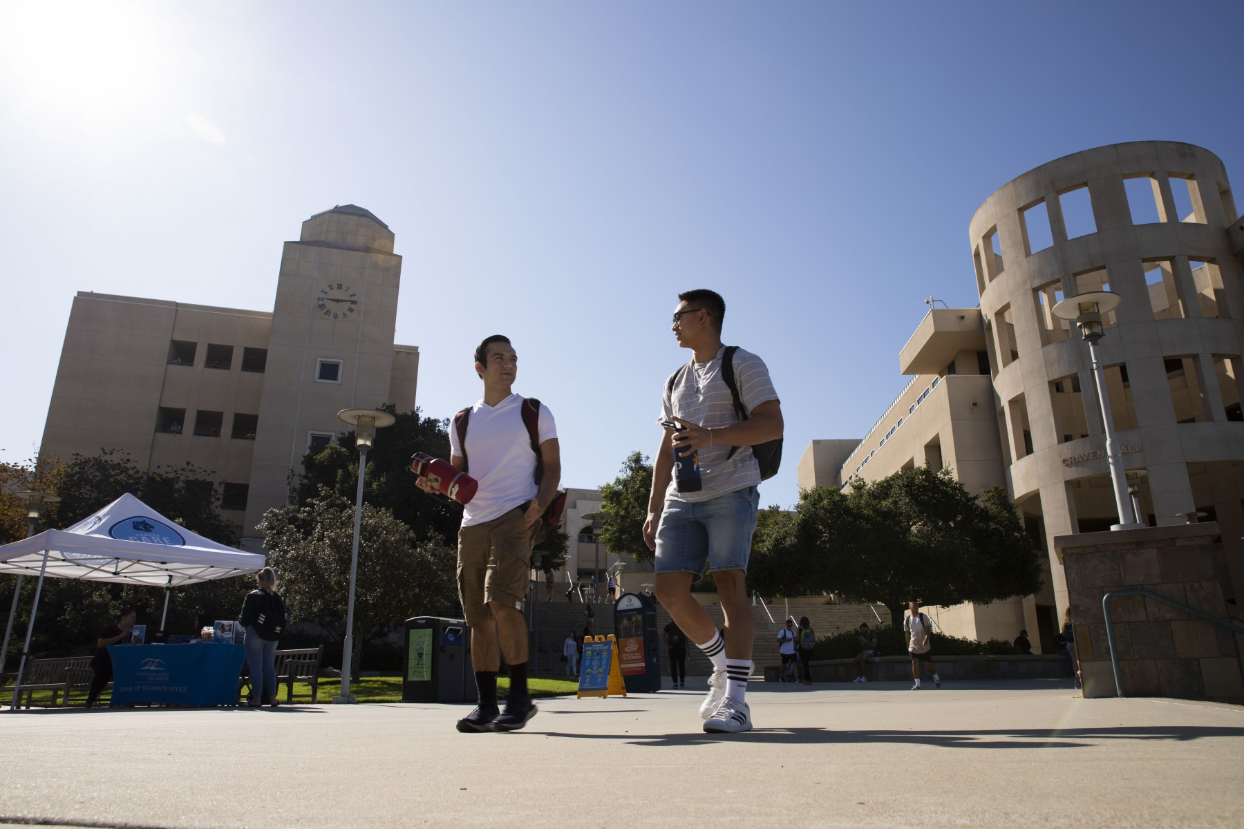 CSUSM welcomes more than 16,000 students for the fall 2019 semester, which began Monday. Photo by Andrew Reed