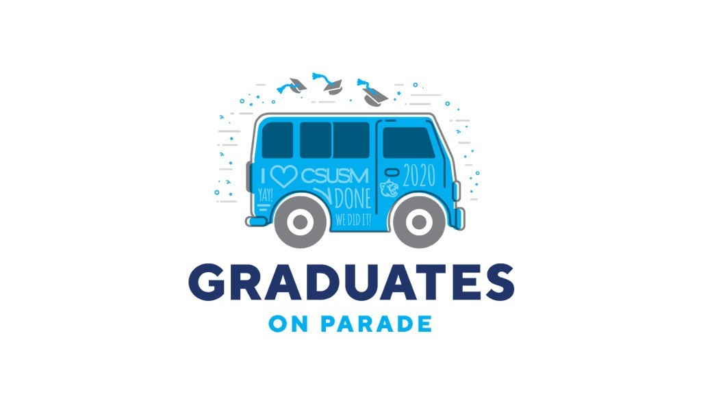 Graduates on Parade will take place Friday, May 15 at 9 a.m.