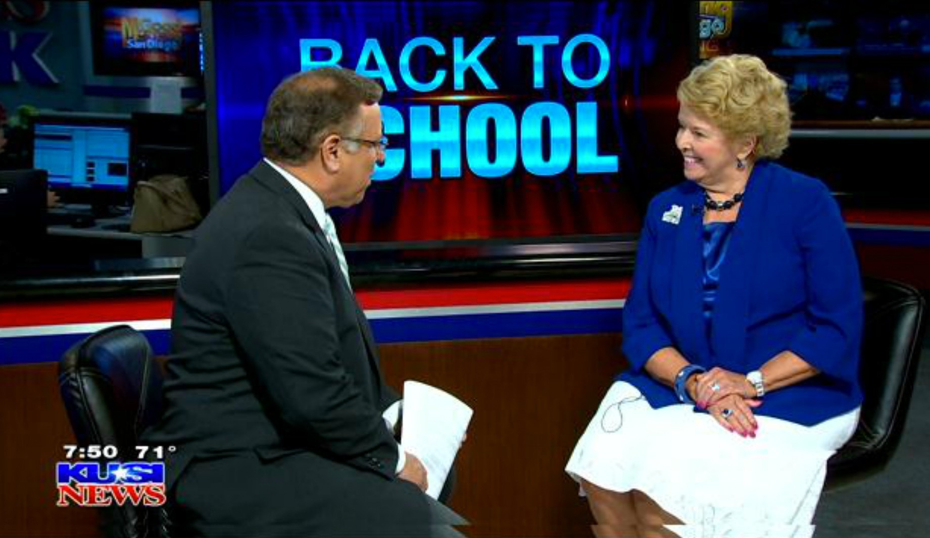 President Haynes on KUSI