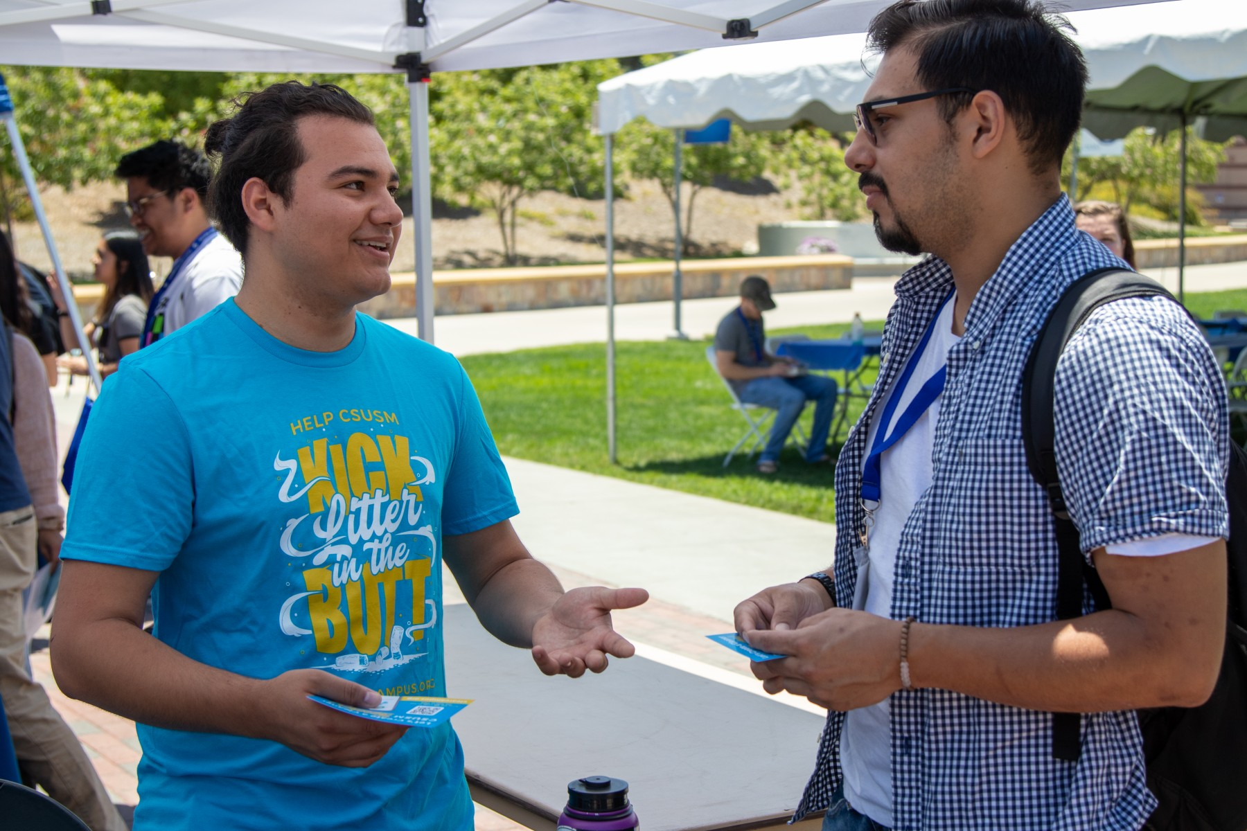 CSUSM celebrates its two-year anniversary as a smoke- and tobacco-free campus on Aug. 28.