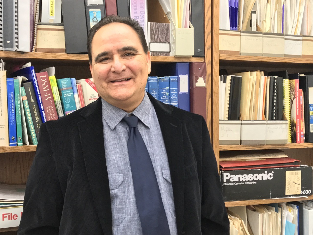Fernando Soriano, chair of the human development department, has written a survival manual for graduating students that will be turned into a book by year's end.
