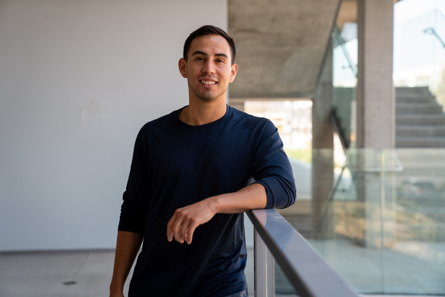 Isaias Torres' dream of a career in medicine  has provided motivation for nearly a decade. It even drove him to give up his love of baseball so he could focus on his future. Photo by Chandler Oriente