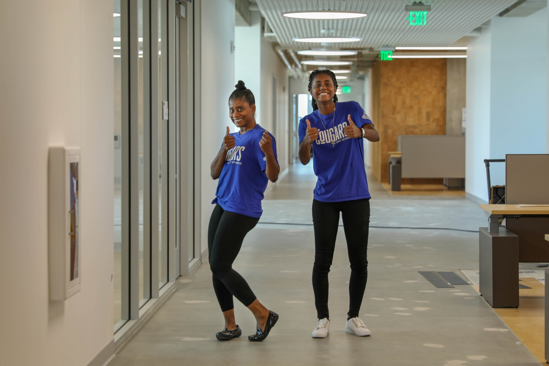 Friday, Aug. 23 was move-in day at CSUSM's new Extended Learning building.