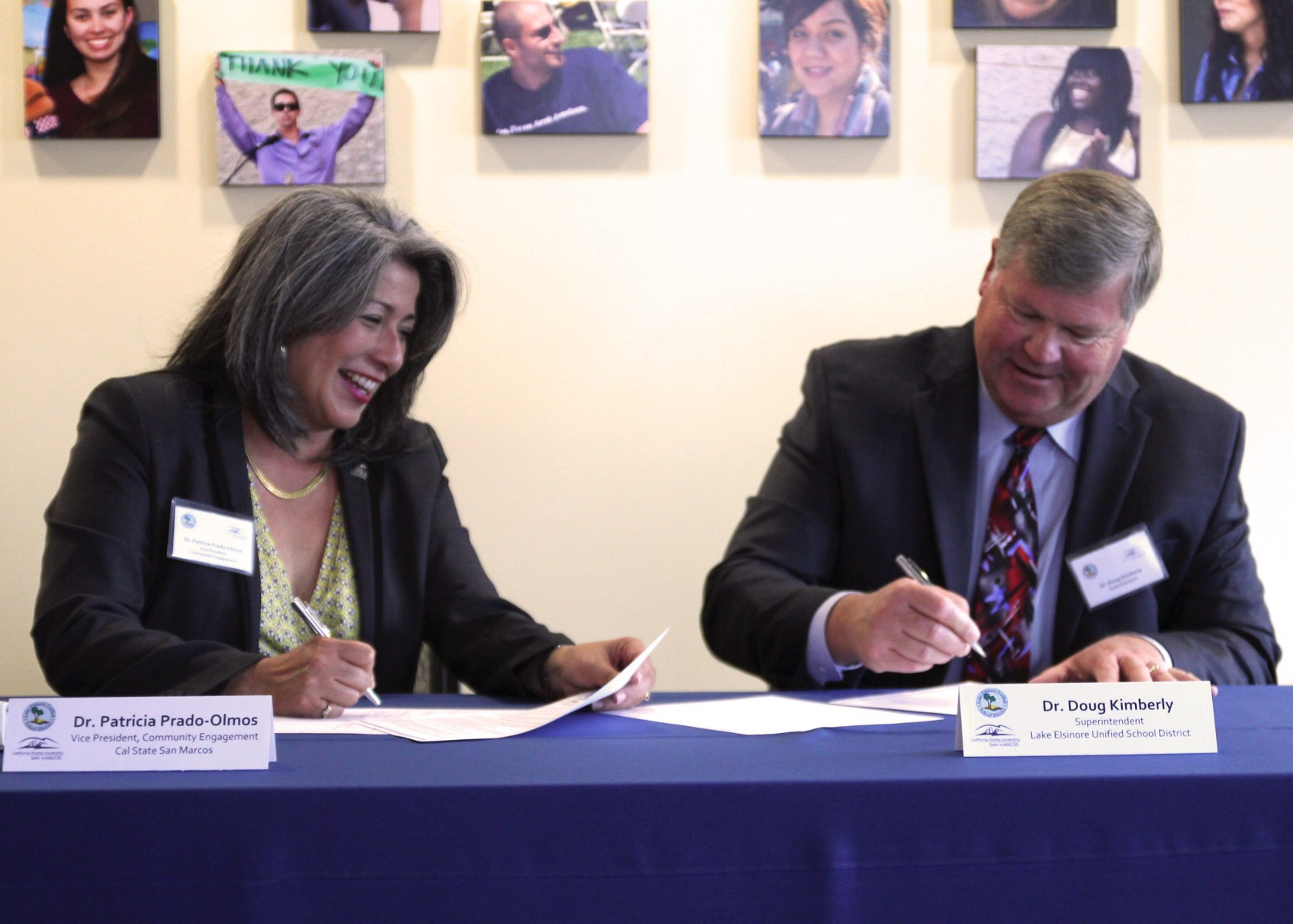 Lake Elsinore Unified School District MOU Signing