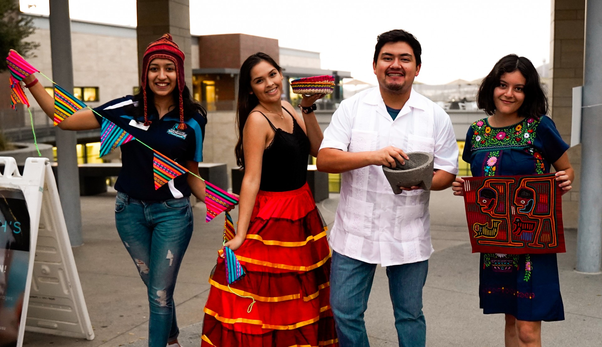 Students enjoy the Latin American Cultural Showcase last year. The Latin@/x Center is celebrating its fifth anniversary on Sept. 17.