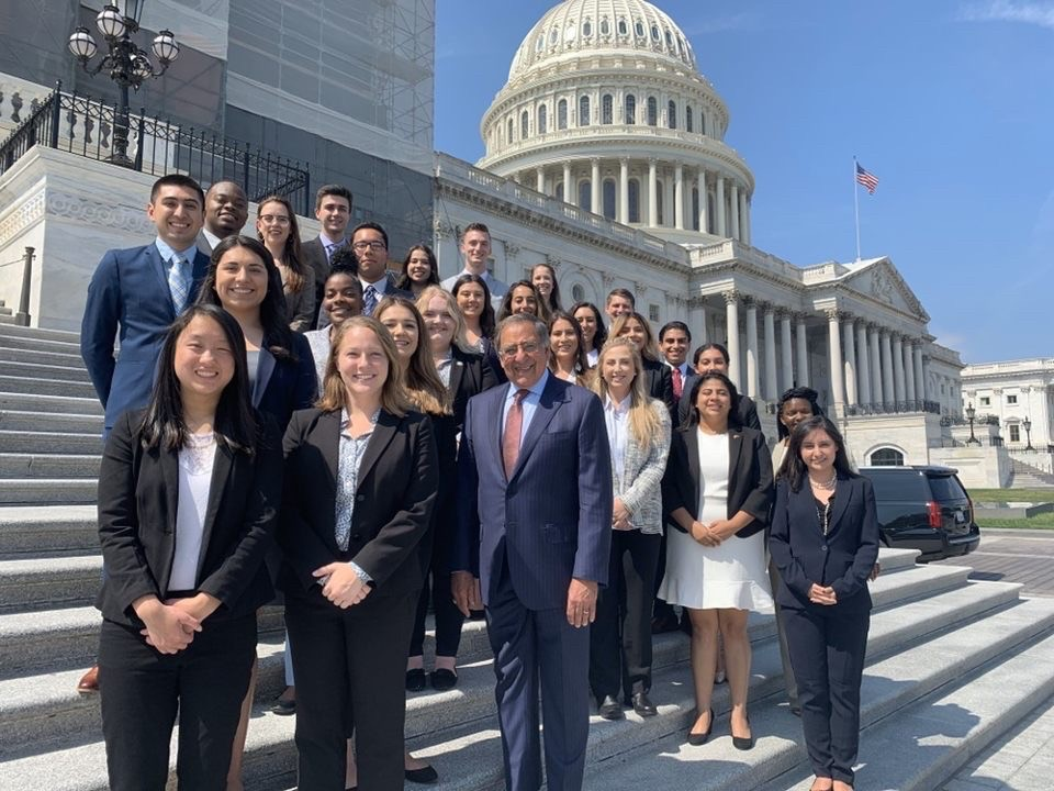 Lauren Loeb represented CSUSM in the Panetta Institute Congressional Internship Program last fall. The program annually selects 26 students from each California State University campus, Dominican University of California, Saint Mary's College and Santa Clara University.