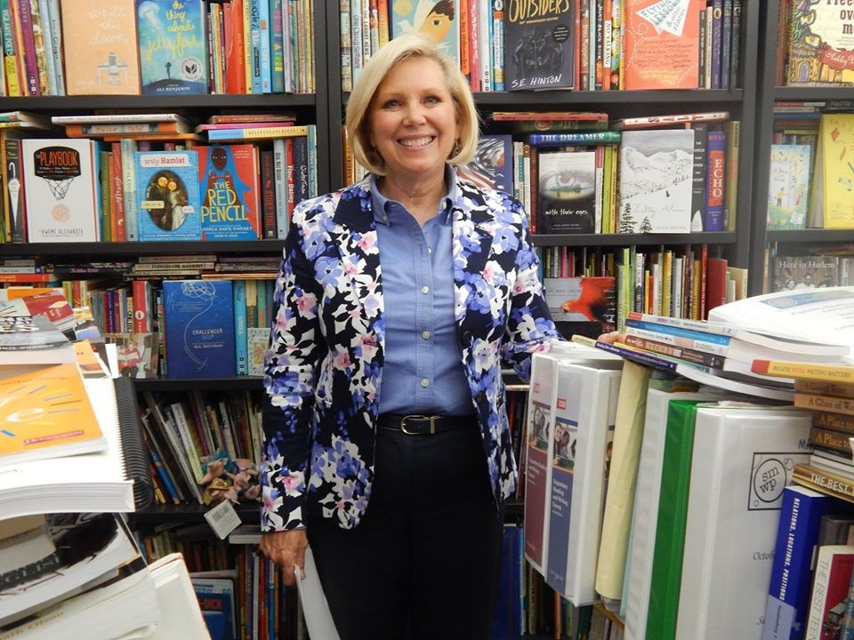 Laurie Stowell, a professor of literacy, has been named director of the School of Education effective Jan. 25.