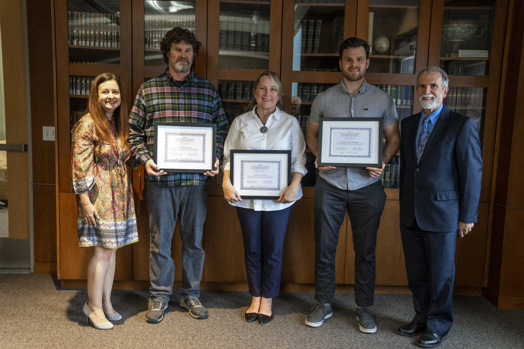4th Annual CSUSM Library Award for Undergraduate Research, Scholarship, and Creative Activity