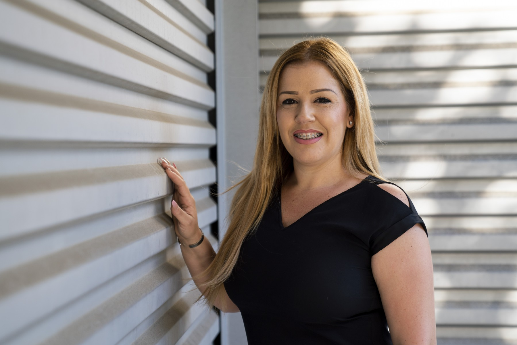 Maria Valdivia has overcome drug addiction and incarceration to earn her bachelor's at CSUSM. Now she is enrolled in the university's MBA program. Photo by Chandler Oriente