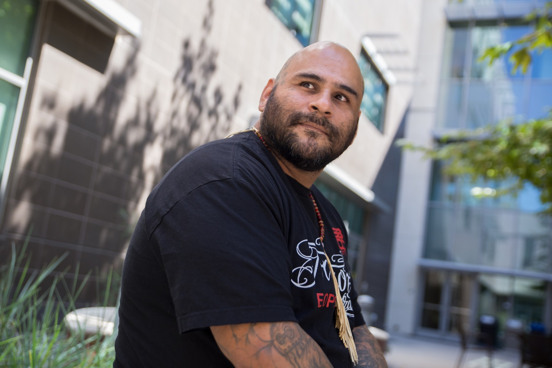 CSUSM alumnus Martín Leyva is the director of the university's new chapter of Project Rebound, which launches this fall. Photo by Christine Vaughan