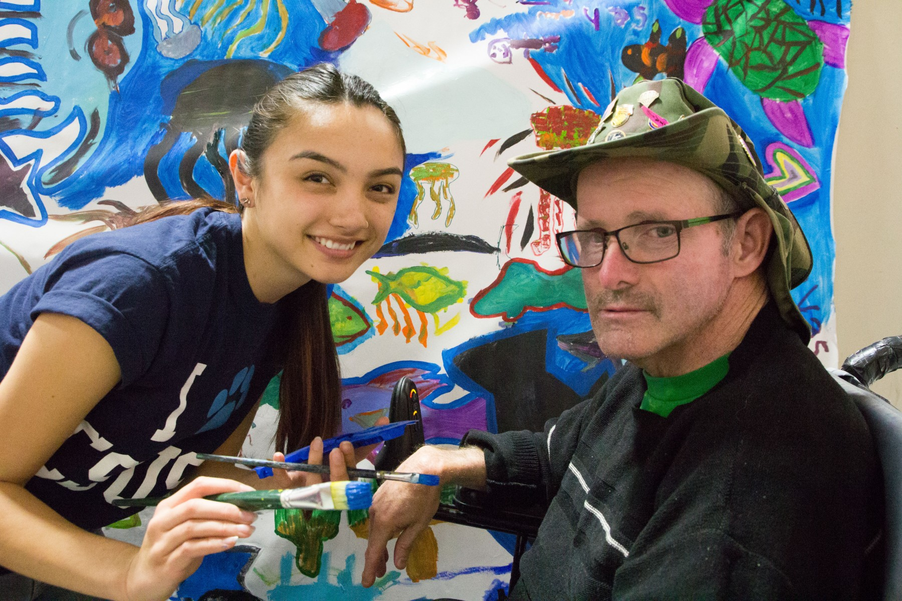 TLC Mural Project at Mountain Shadows