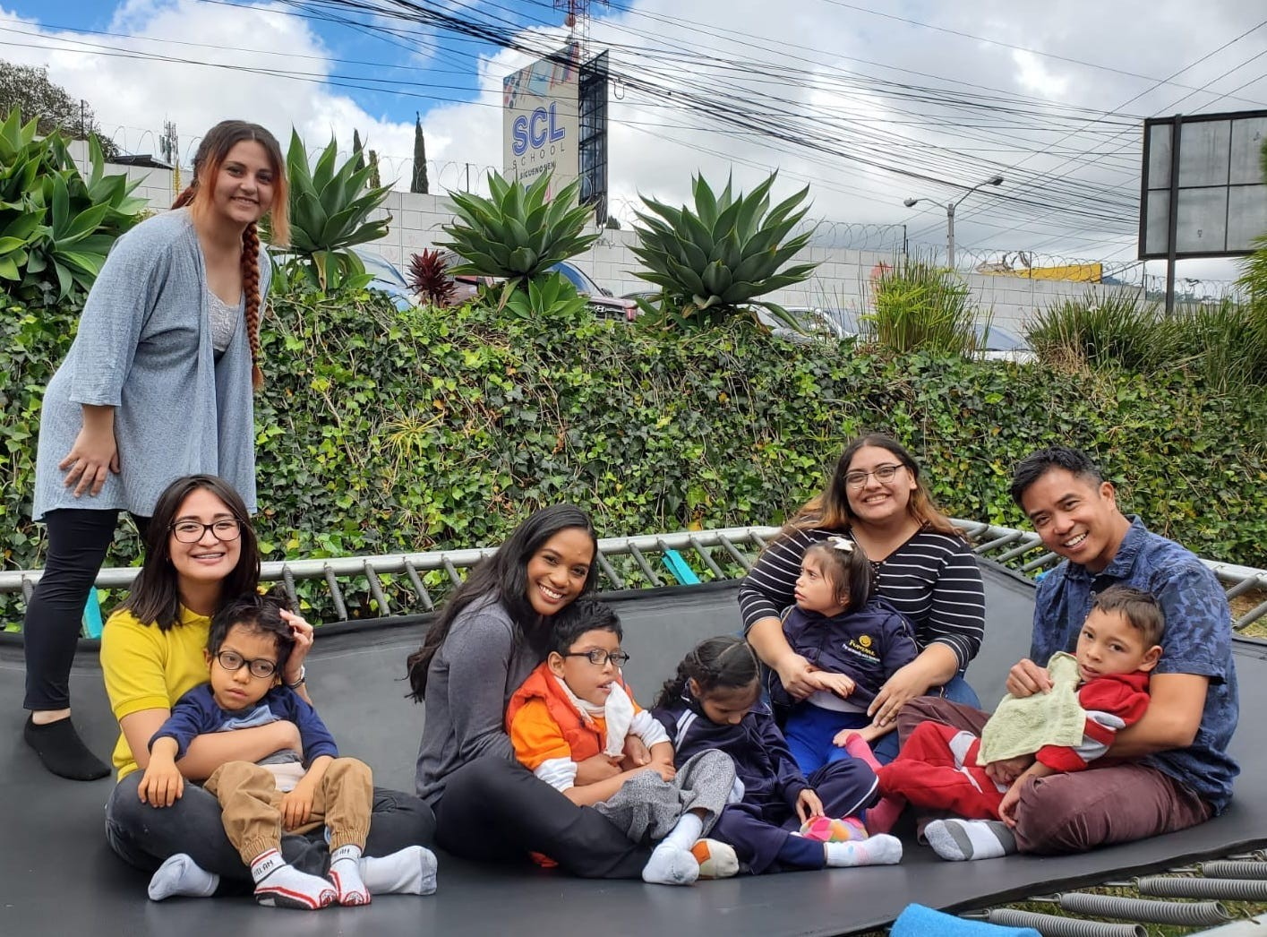 Kristen Nahrstedt, the director of clinical education in the speech-language pathology department since 2013, took a group of SLP students to Guatemala over winter break. It was the first time CSUSM SLP students have done clinical work in a foreign country.