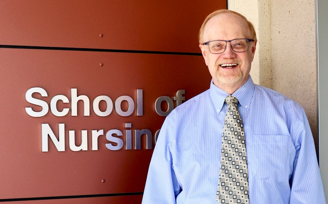 Dr. Tom Olson has taken over as director of CSUSM's School of Nursing.
