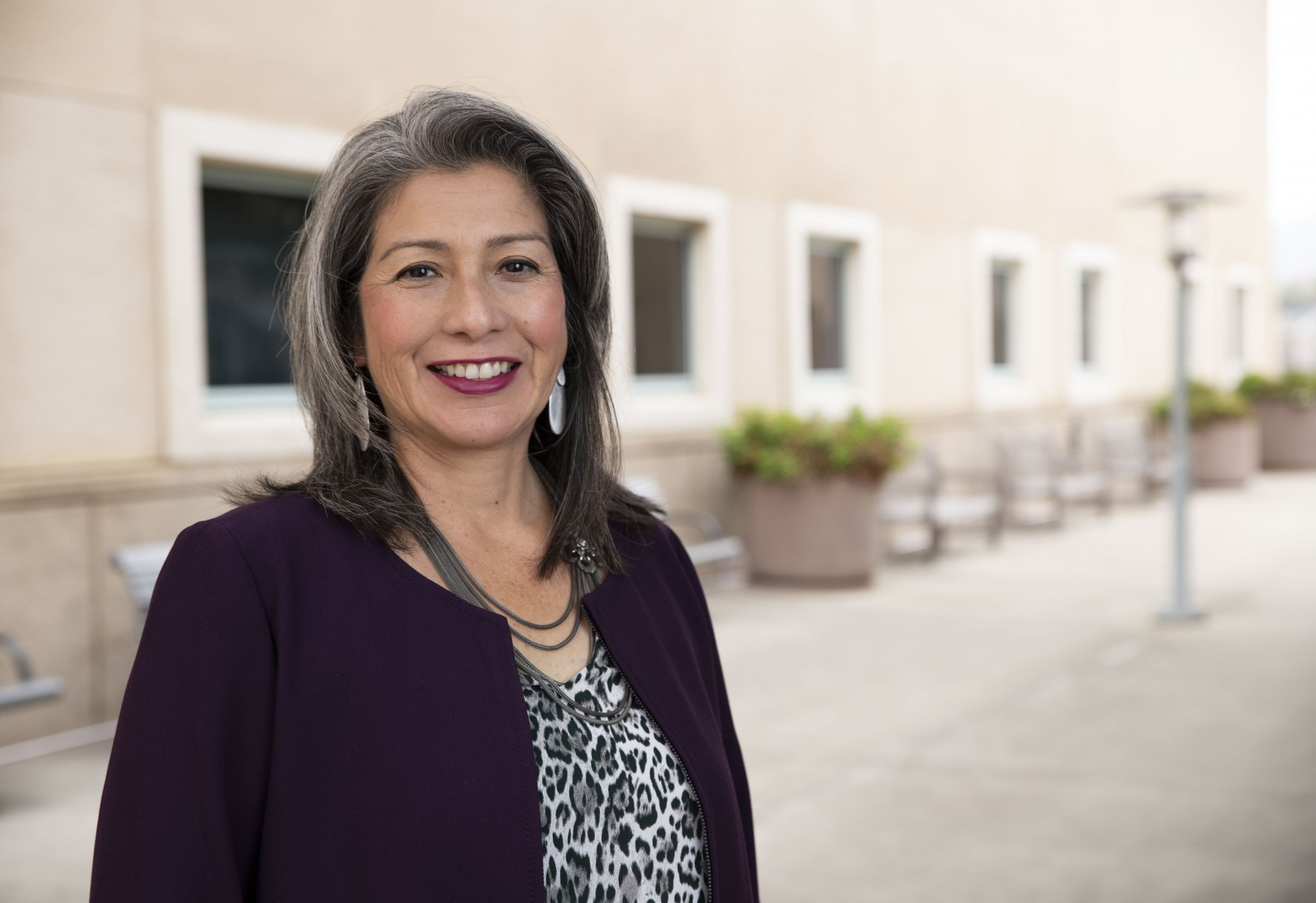 Patricia Prado-Olmos, formerly CSUSM's vice president of Community Engagement, has been given a new title: chief community engagement officer, reflecting her charge to work with faculty, staff and students across the university to more deeply connect with the region.