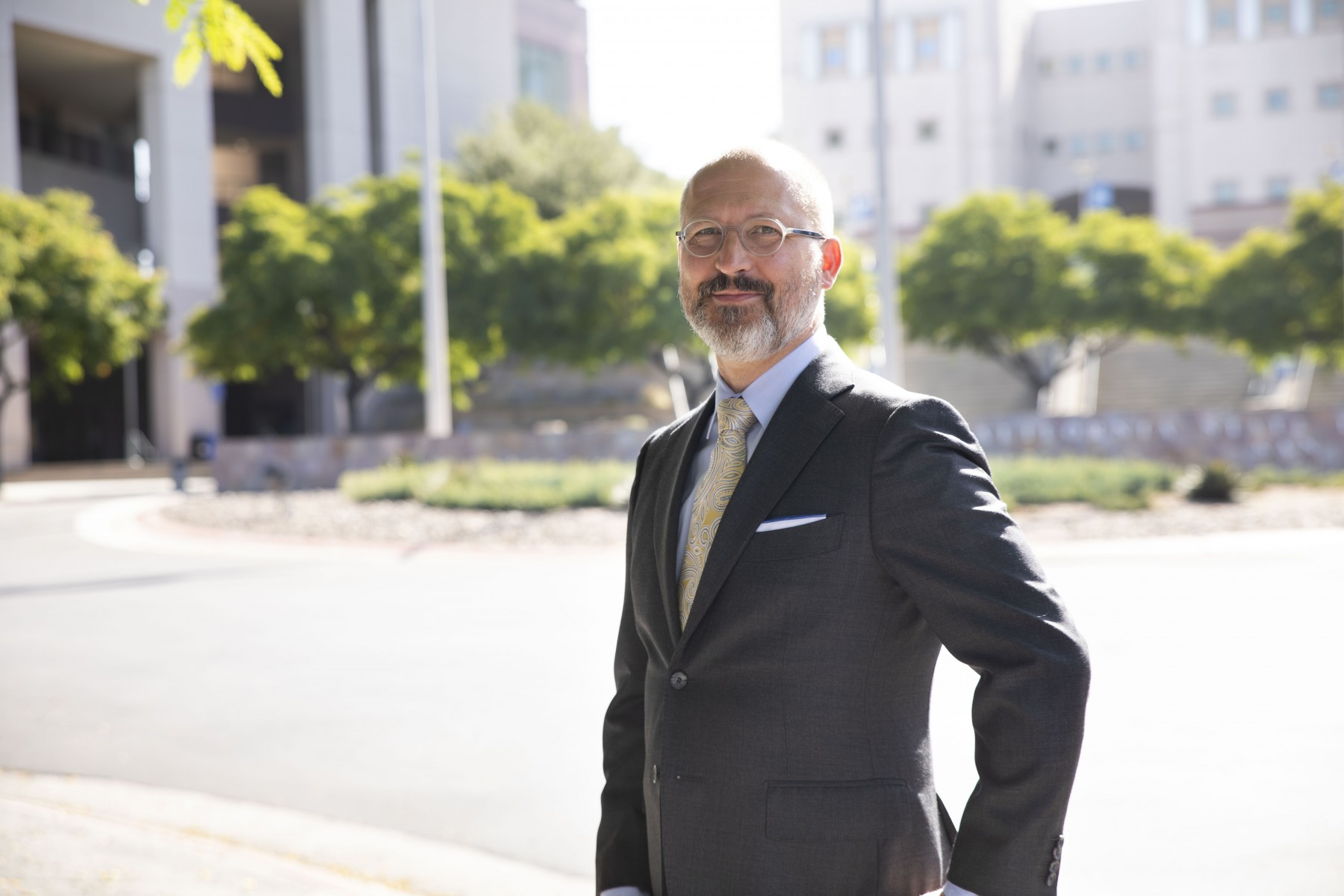 Carl Kemnitz began his tenure as CSUSM's provost and vice president of Academic Affairs on July 1. Photo by Andrew Reed