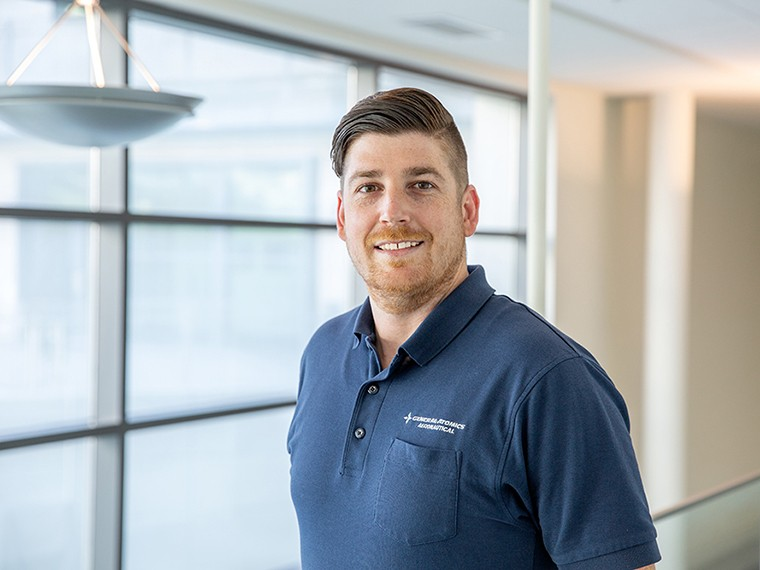 As a cybersecurity systems engineer, Ryan Miller solves technical and security issues for the U.S. Air Force and the U.S. Navy and increases safety for the service men and women on the front lines.