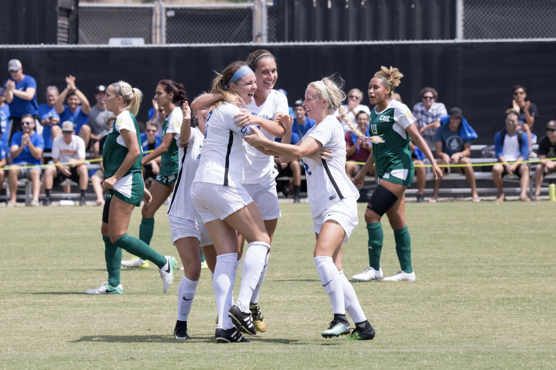 Women's soccer win vs. Concordia University Irvine 8.31.17