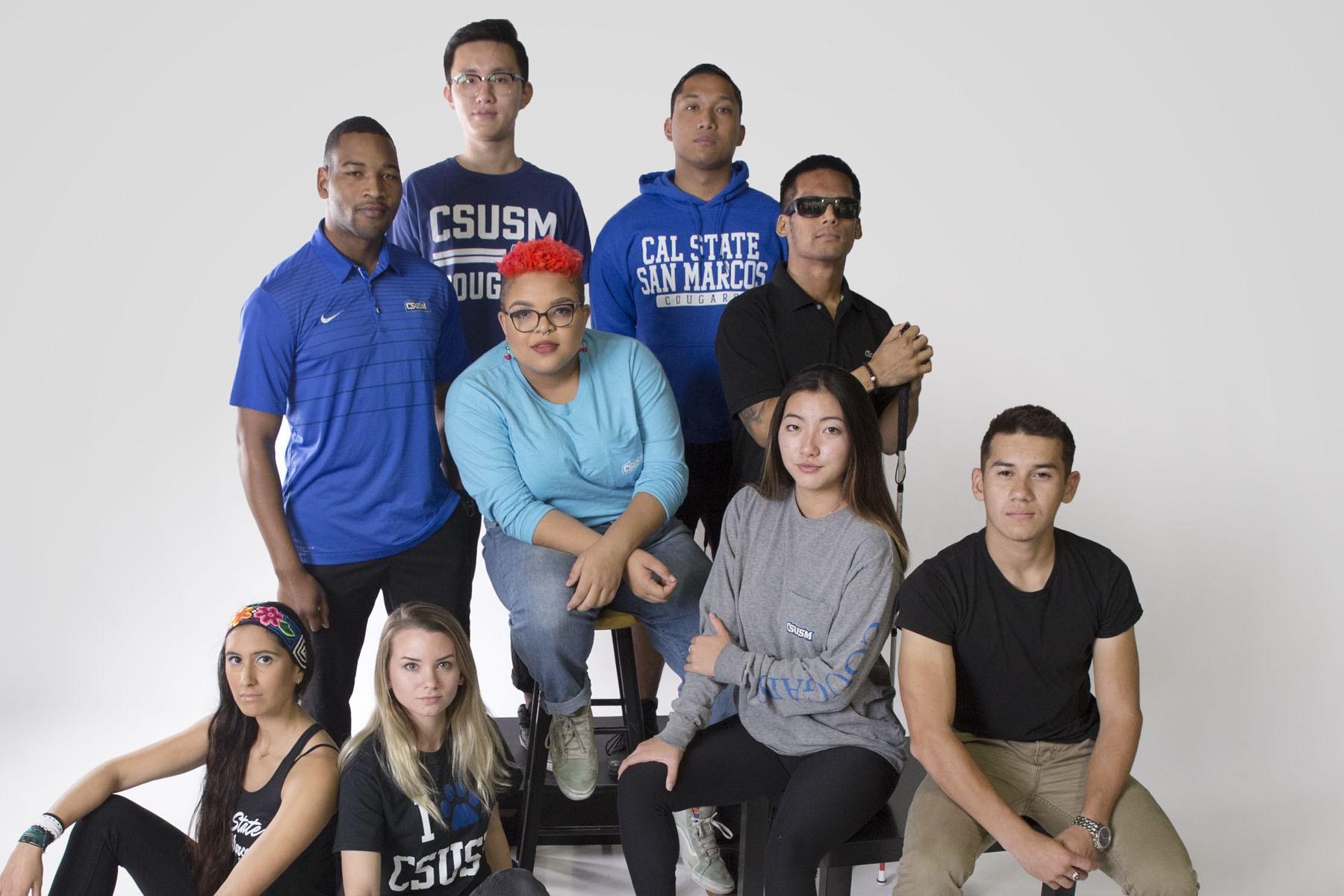 CSUSM students